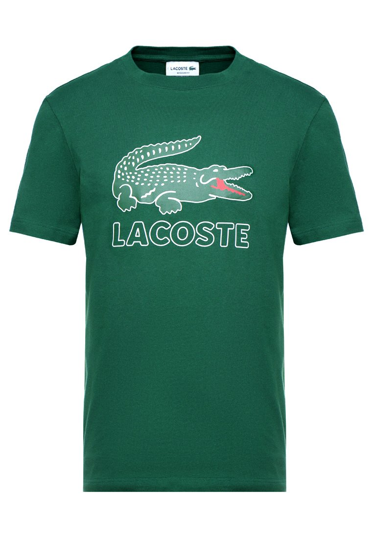 Lacoste - T-shirt z nadrukiem - green