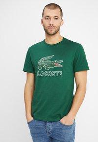 Lacoste - T-shirt print - green - 2