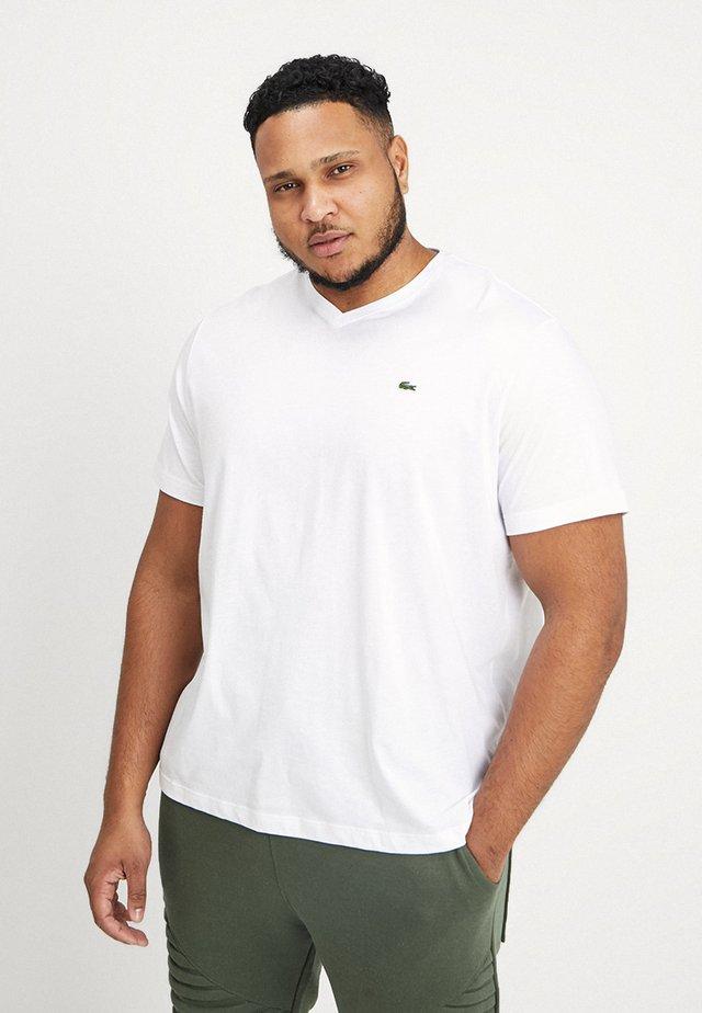 Jednoduché triko - blanc