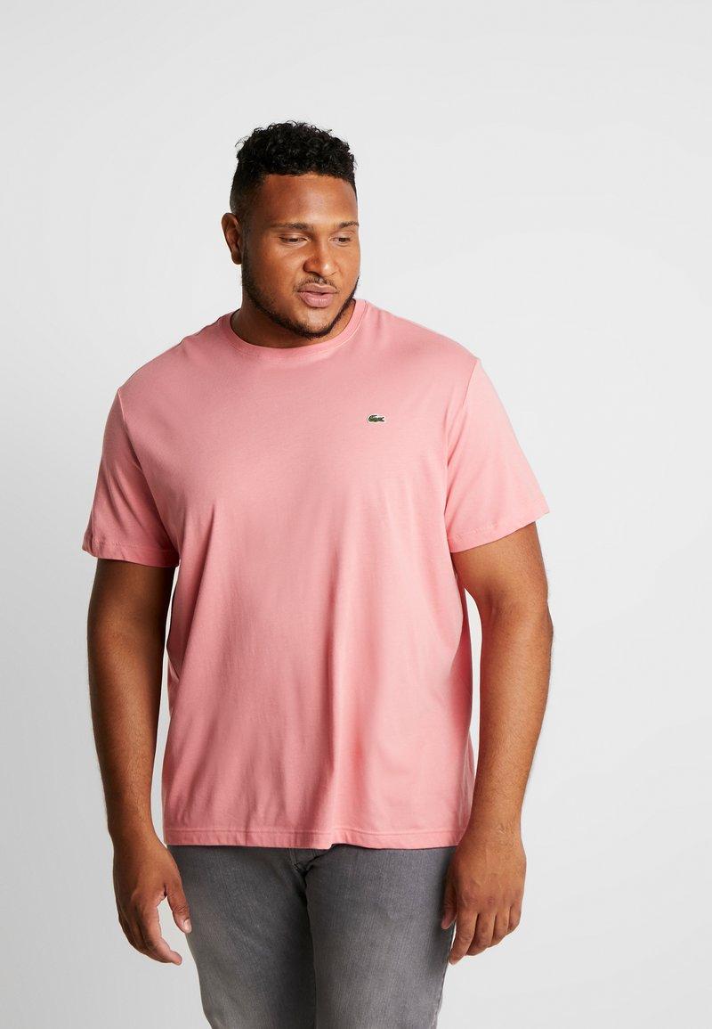 Lacoste - PLUS SIZE - Basic T-shirt - pink