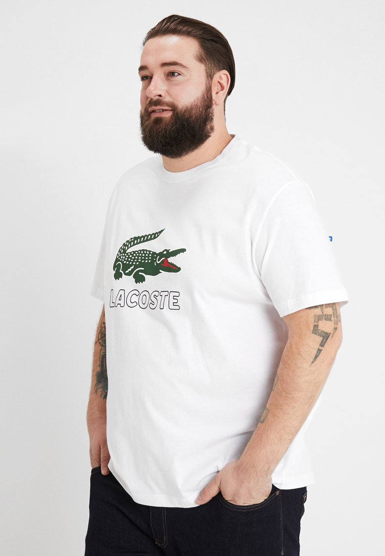 Lacoste - T-shirts med print - white