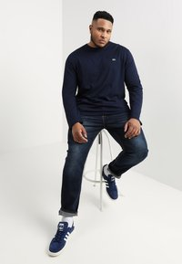 Lacoste - Long sleeved top - navy - 1
