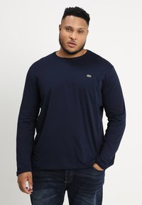 Lacoste - Long sleeved top - navy - 0