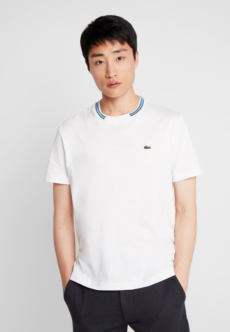 Lacoste - TH8560 - Camiseta básica - farine