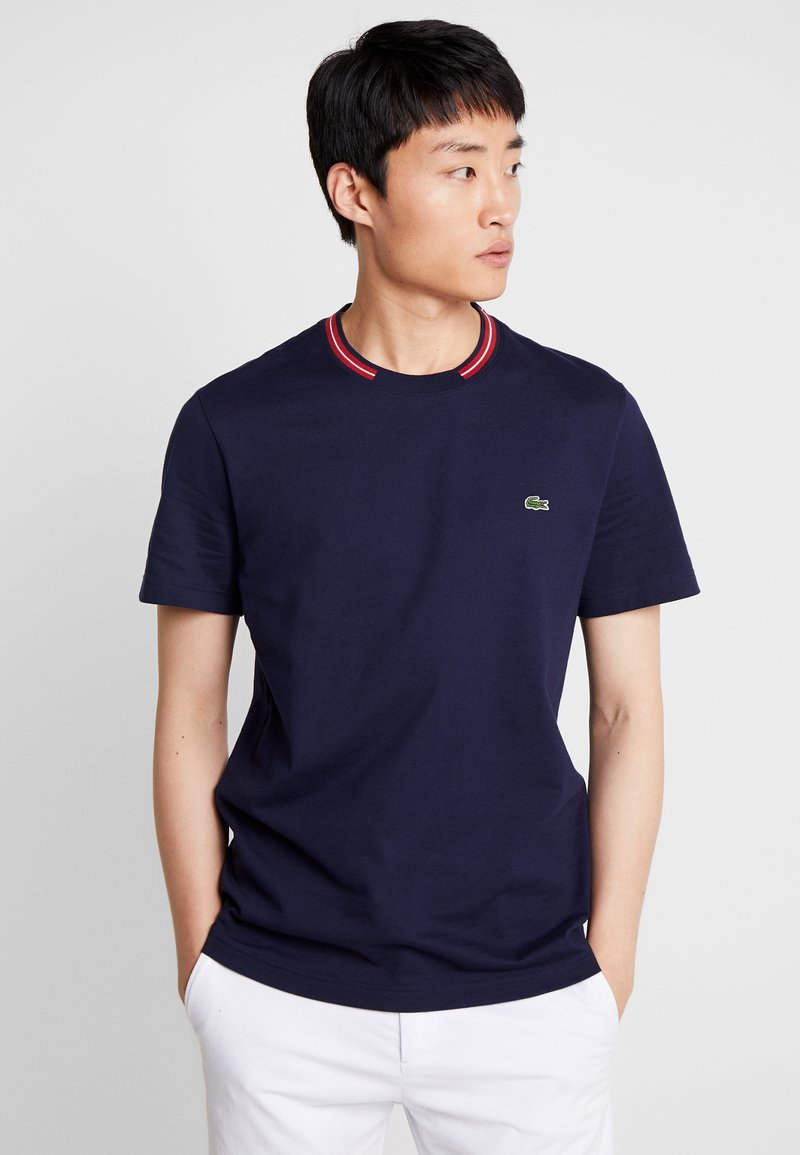 Lacoste - TH8560 - T-Shirt basic - marine
