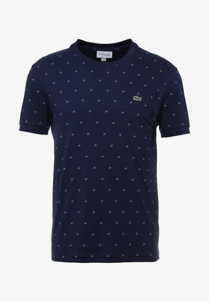 TH8620 - T-shirt imprimé - marine/blanc