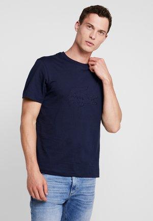 Triko spotiskem - navy blue