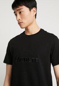 Lacoste - T-shirt basic - noir - 3