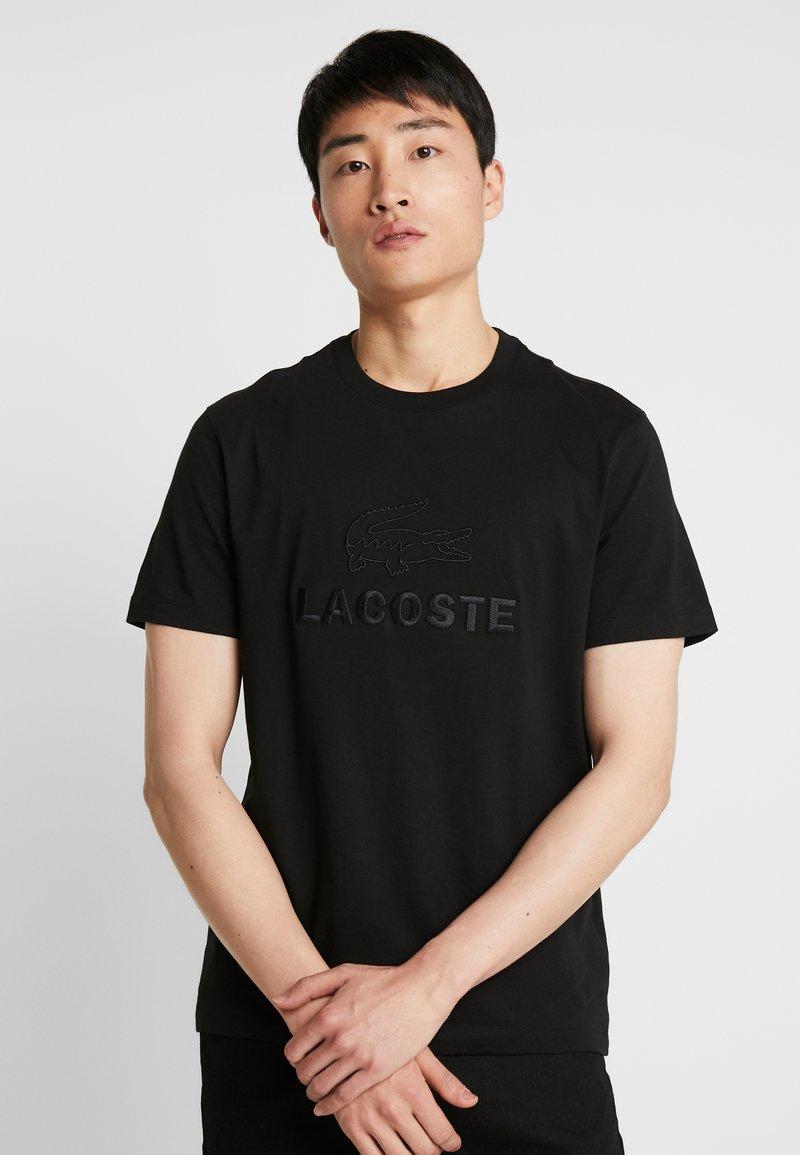 Lacoste - T-shirt basic - noir
