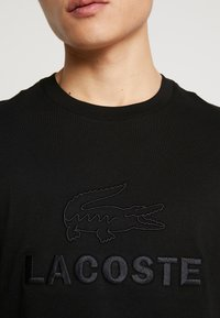 Lacoste - T-shirt basic - noir - 5