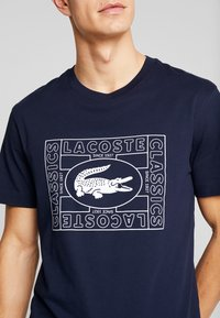 Lacoste - TH5097-00 - T-Shirt print - marine - 5