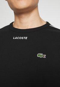 Lacoste - T-Shirt print - black - 5