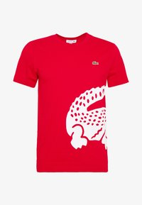 Lacoste - T-shirt imprimé - red - 4