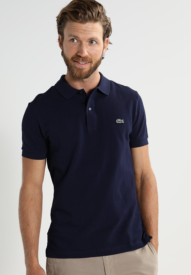 Lacoste - SLIM FIT PH4012-00 - Piké - navy blue