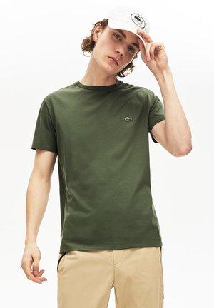 TH6709 - Basic T-shirt - vert kaki