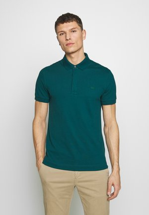 Polo - mottled dark green