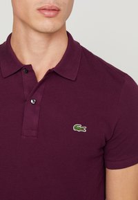 Lacoste - SLIM FIT - Polo shirt - aubergine - 4