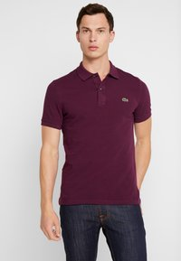 Lacoste - SLIM FIT - Polo - aubergine - 0