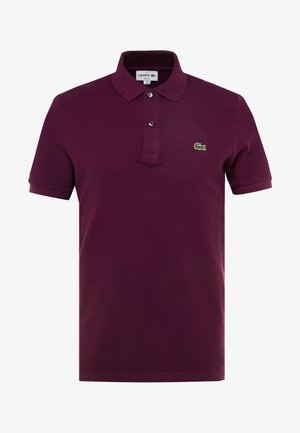 SLIM FIT - Poloshirt - aubergine