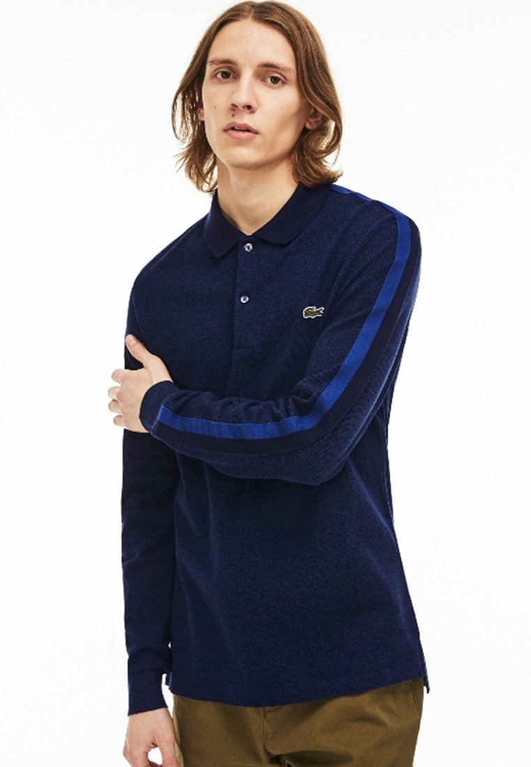 Lacoste - NORMAL FIT PH9396 - Polo shirt - inkwell/black-navy blue