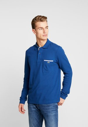 Koszulka polo - encrier/blanc-marine