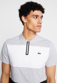 Lacoste - Polo shirt - argent chine/blanc/noir - 4
