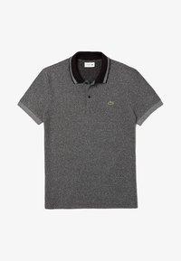 heather grey/black