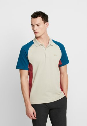 Polotričko - beige/dark blue/red