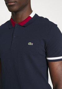 Lacoste - PH5095 - Polo shirt - navy blue/flour/bordeaux - 5