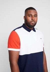 Lacoste - Polo shirt - marine/blanc/salvia - 4