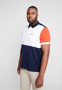 Lacoste - Polo shirt - marine/blanc/salvia - 0