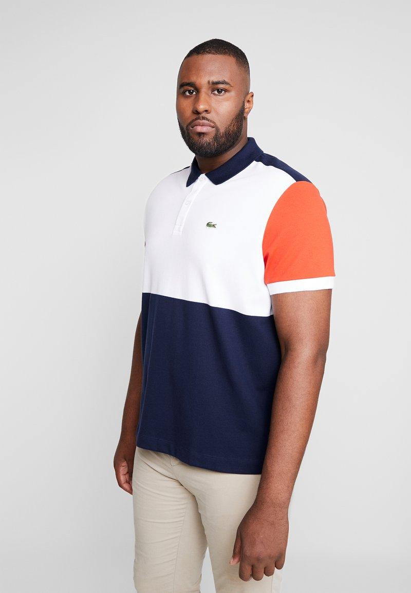Lacoste - Polo shirt - marine/blanc/salvia