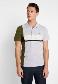 Lacoste - Polo - argent chine/marine geode - 0