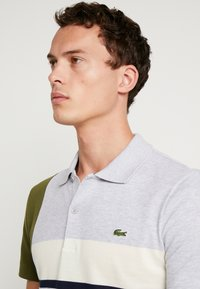 Lacoste - Polo - argent chine/marine geode - 5