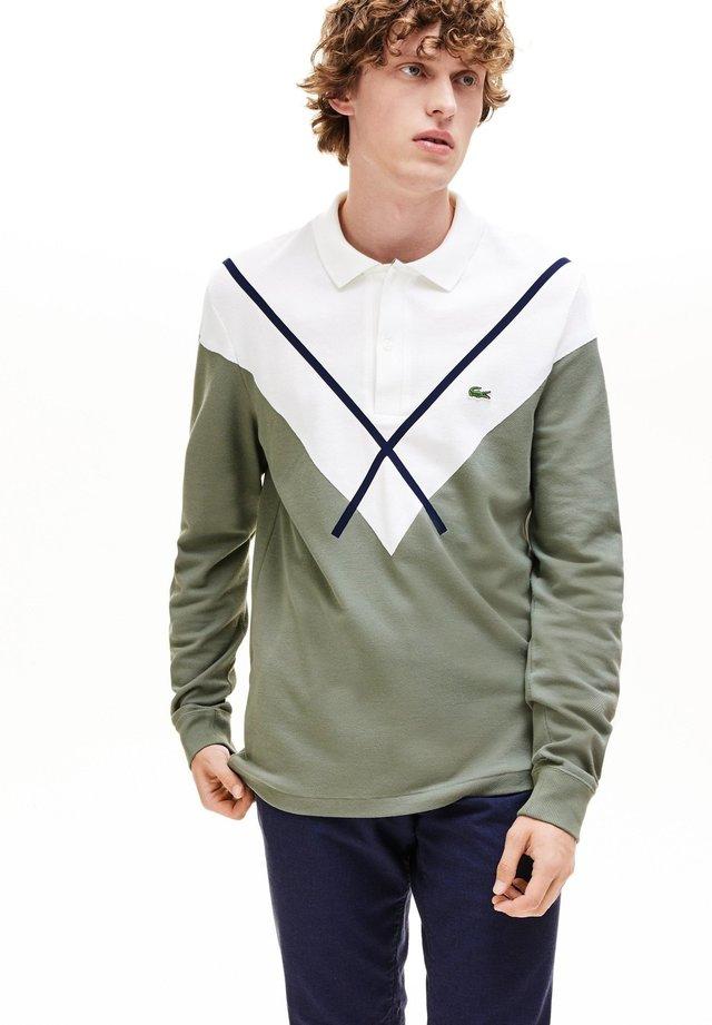 PH8568 - Poloshirt - khaki green/white