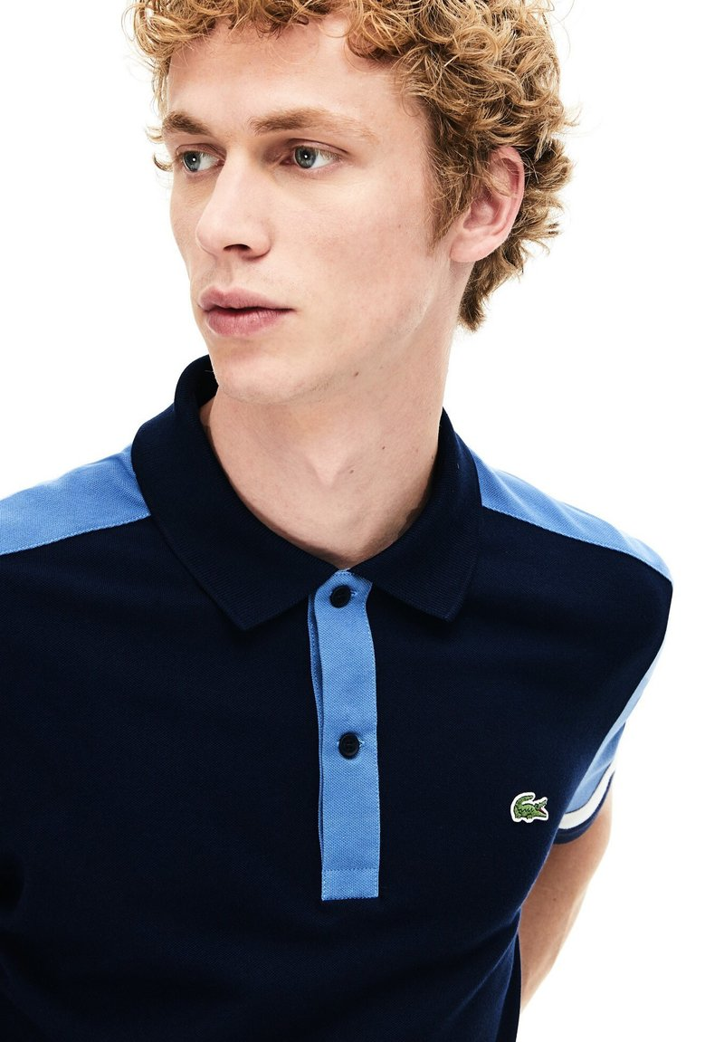 Lacoste - PH8743 - Polo shirt - navy blue/blue/white