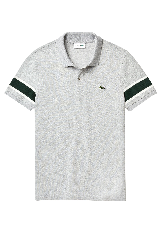 Lacoste PH8794 - Polo shirt - heather grey/white/green