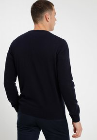 Lacoste - AH0841 - Pullover - navy blue/sinople-flour - 2