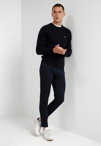 Lacoste - AH0841 - Pullover - navy blue/sinople-flour - 1