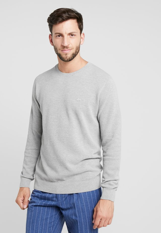 Sweter - silver chine