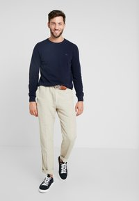 Lacoste - Sweter - navy blue - 1