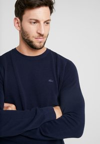 Lacoste - Sweter - navy blue - 4