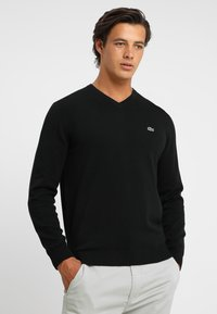 Lacoste - Sweter - black - 0