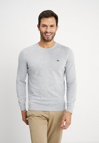 Lacoste - Jumper - silver chine - 0