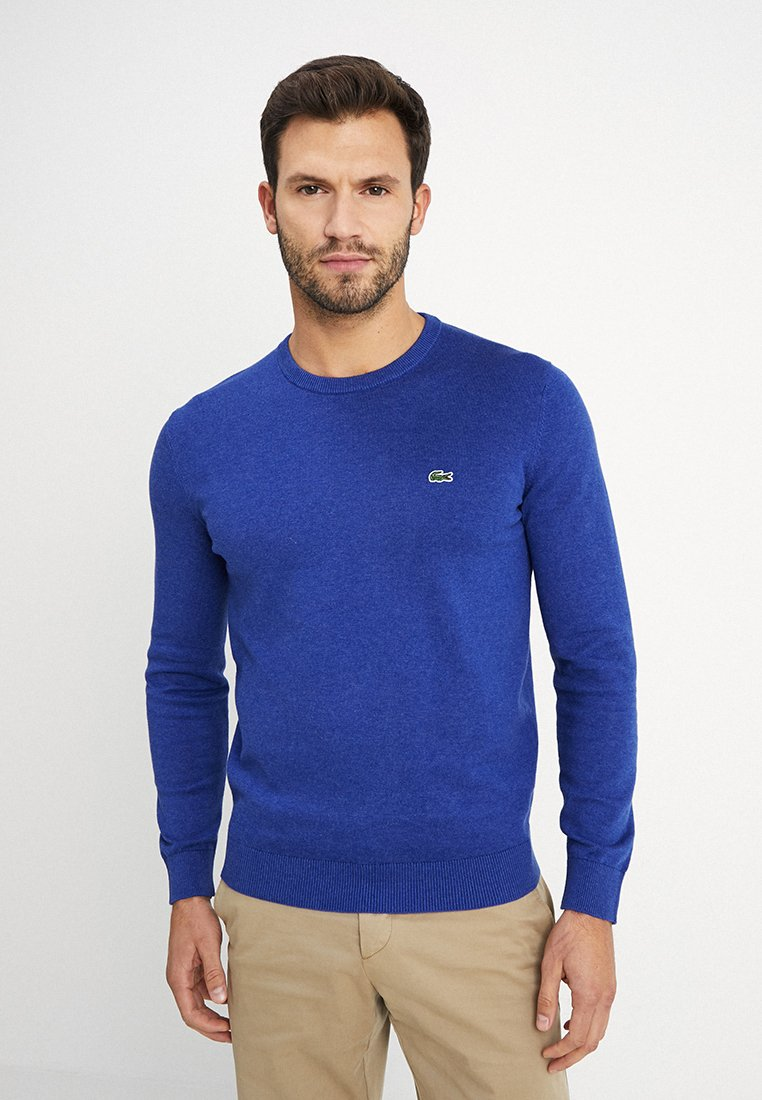 Lacoste - Strickpullover - navy blue flour