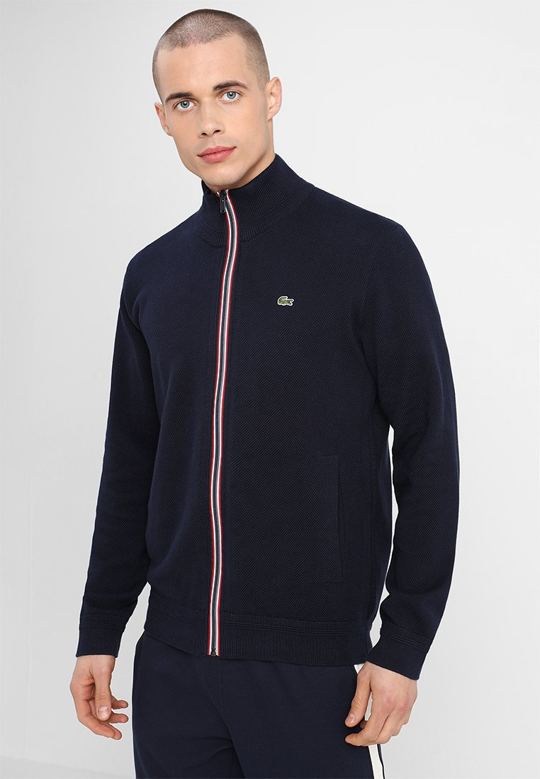 Lacoste - Strickjacke - navy blue