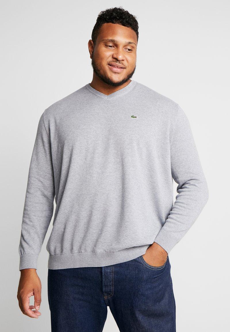 Lacoste - Sweter - mottled grey