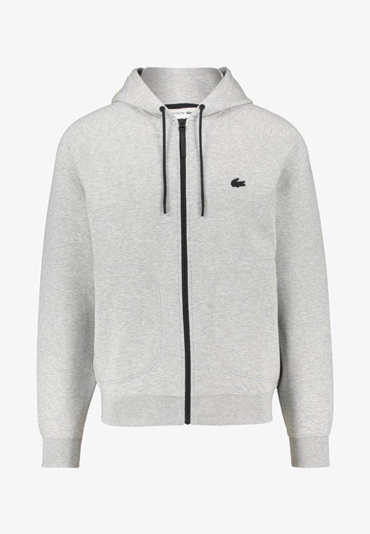 Lacoste - Mikina na zip - grey