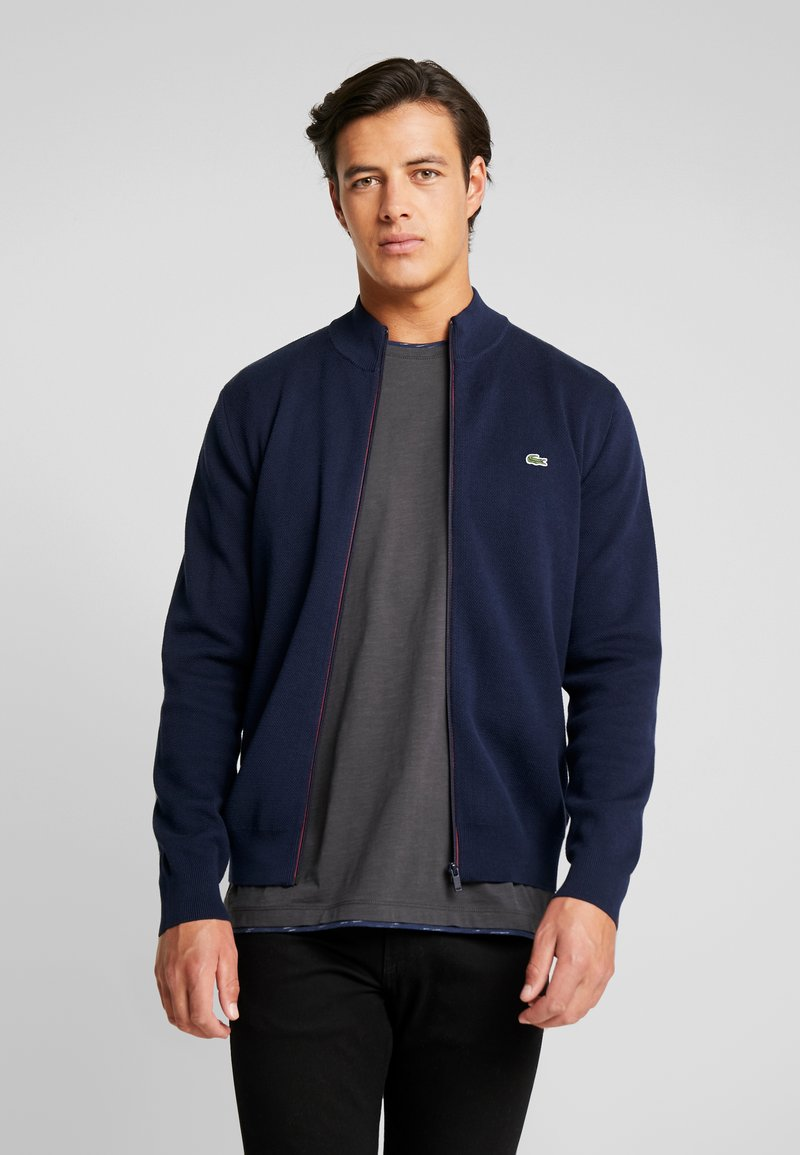 Lacoste - Cardigan - navy blue