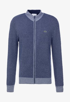 Cardigan - dark indigo blue/breeze